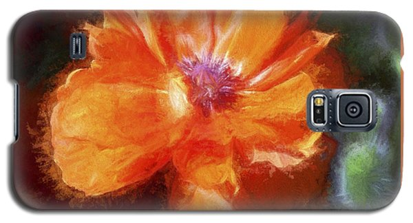 Painted Poppy Galaxy S5 Case