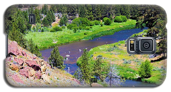 Galaxy S5 Case featuring the photograph Painted River by Jonny D