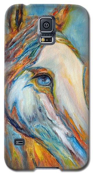 Painted Horse Sensation Galaxy S5 Case by Jennifer Godshalk