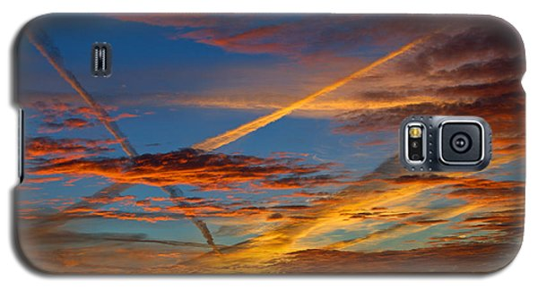 Painted Skies Galaxy S5 Case