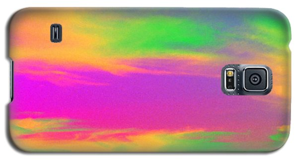 Galaxy S5 Case featuring the photograph Painted Sky by Linda Hollis