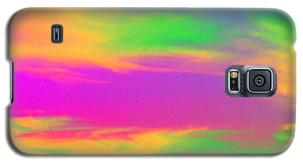 Painted Sky - Abstract Galaxy S5 Case by Linda Hollis