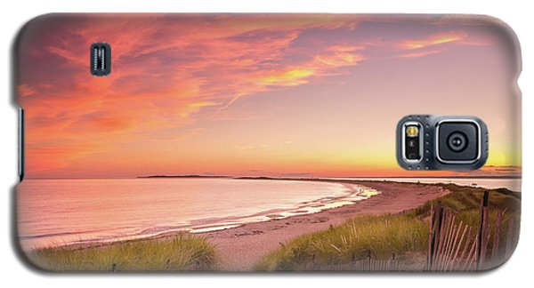 Painted Sky Over Napatree Point Galaxy S5 Case