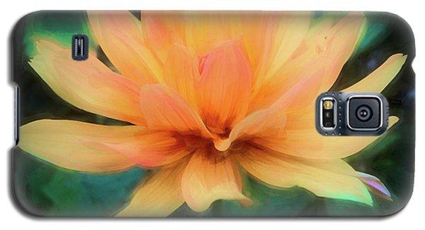 Painted Tangerine Dahlia Galaxy S5 Case
