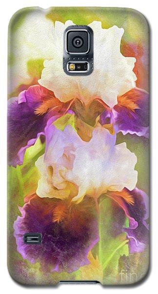 Painterly Bearded Iris Galaxy S5 Case