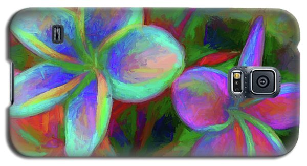 Painterly Frangipanis Galaxy S5 Case