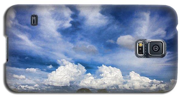 Painterly Sky Over Oklahoma Galaxy S5 Case