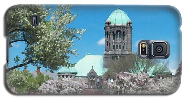 Painterly Taunton Green Spring Galaxy S5 Case