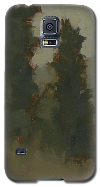 Pair Of Trees Galaxy S5 Case