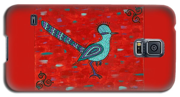Paisano Petra - Roadrunner Galaxy S5 Case by Susie WEBER