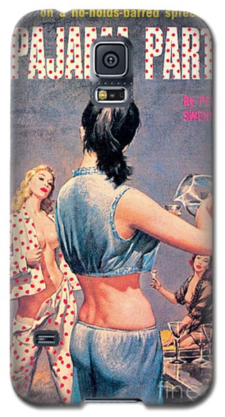 Galaxy S5 Case featuring the painting Pajama Party by Paul Rader