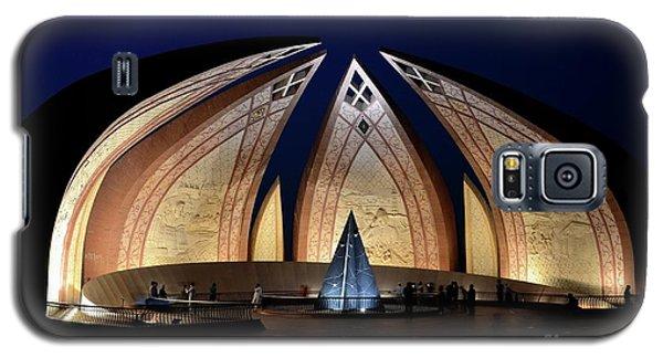Pakistan Monument Illuminated At Night Islamabad Pakistan Galaxy S5 Case