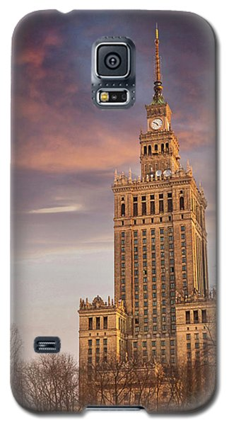Palace Of Culture And Science Warsaw Poland  Galaxy S5 Case