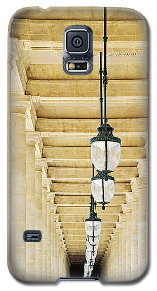 Palais-royal Arcade - Paris, France Galaxy S5 Case by Melanie Alexandra Price