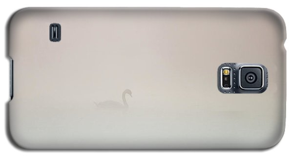 Pale Outline In The Fog Galaxy S5 Case