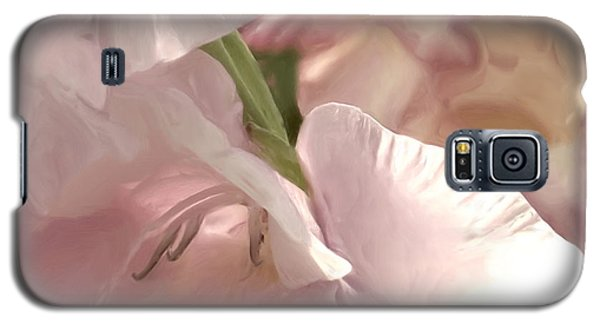 Pale Pink Glads Galaxy S5 Case