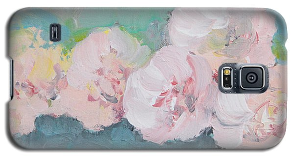 Pale Pink Peonies Galaxy S5 Case