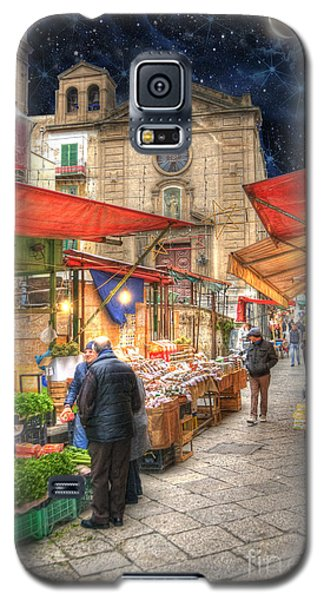 Palermo Market Place Galaxy S5 Case