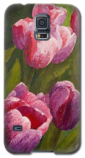 Palette Tulips Galaxy S5 Case