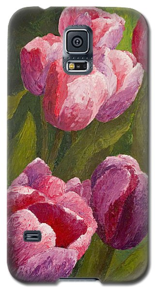 Palette Tulips Galaxy S5 Case