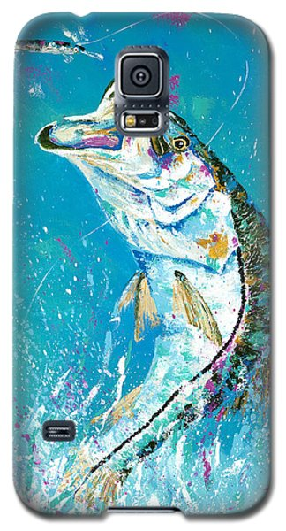 Pallet Knife Jumping Snook Galaxy S5 Case