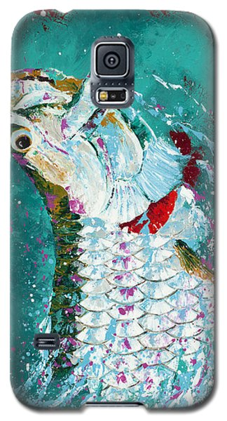 Pallet Knife Jumping Tarpon Galaxy S5 Case