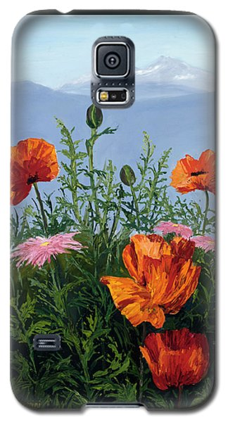 Pallet Knife Poppies Galaxy S5 Case