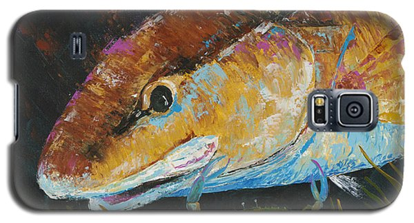 Pallet Knife Redfish And Blue Crab Galaxy S5 Case