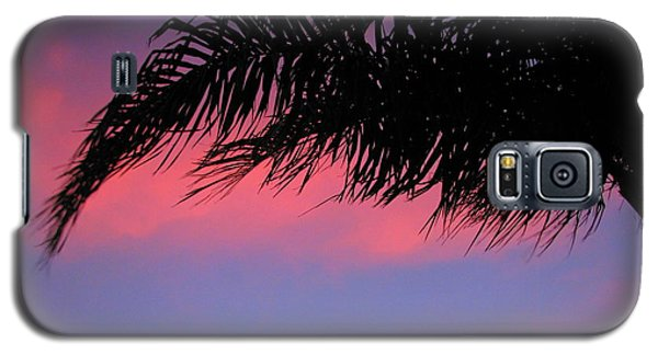 Palm At Sunset Galaxy S5 Case