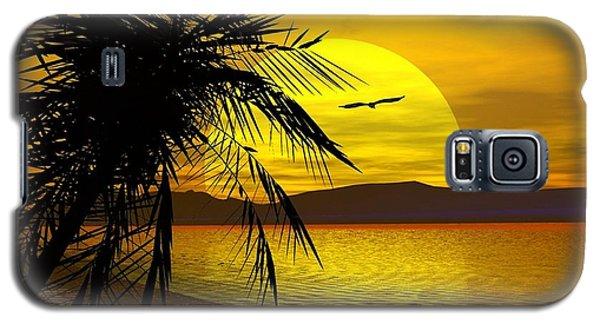 Palm Beach Galaxy S5 Case by Robert Orinski