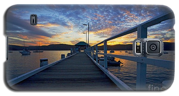 Sunset Galaxy S5 Case - Palm Beach Wharf At Dusk by Sheila Smart Fine Art Photography
