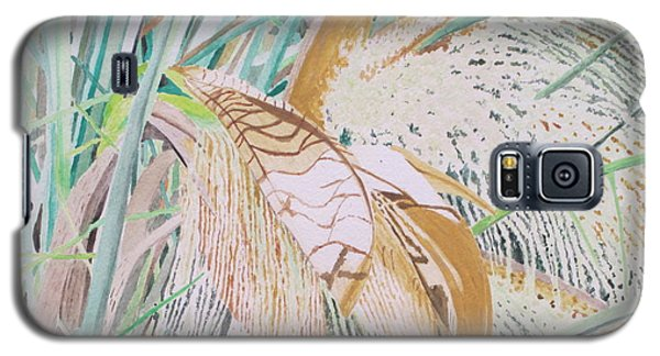 Palm Flowers Galaxy S5 Case by Hilda and Jose Garrancho