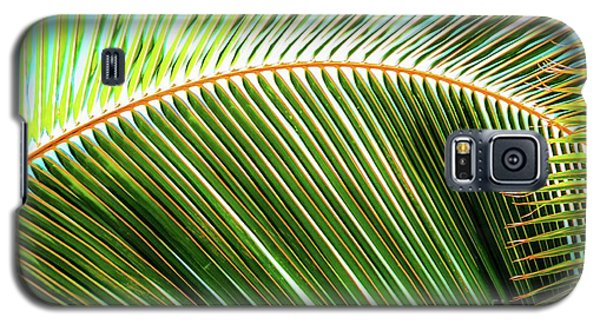 Palm Frond Sway Galaxy S5 Case