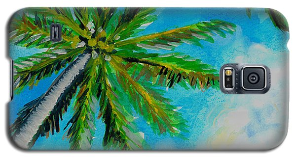 Palm In The Sky Galaxy S5 Case