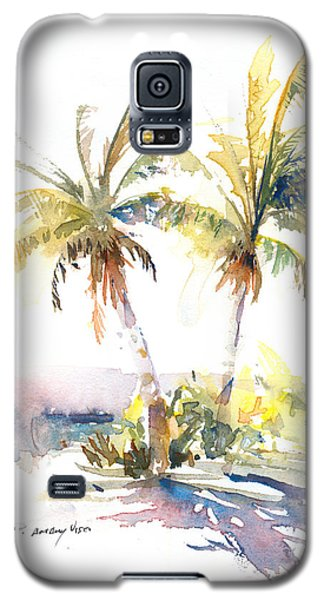Palm Shadows Galaxy S5 Case