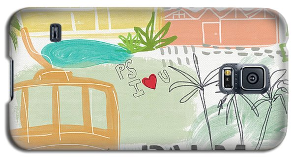 Palm Springs Cityscape- Art By Linda Woods Galaxy S5 Case