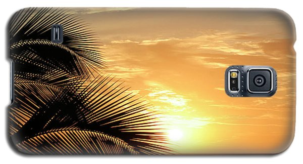 Palm Sunset 2 Galaxy S5 Case