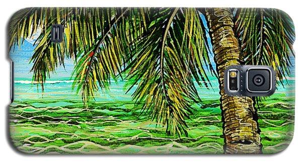 Palm Tree Galaxy S5 Case by Debbie Chamberlin