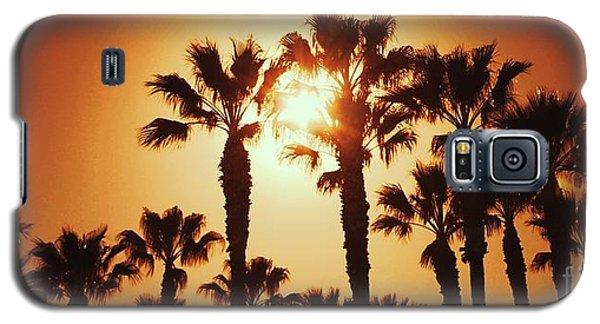 Palm Tree Dreams Galaxy S5 Case