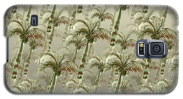 Palm Tree Grove Galaxy S5 Case