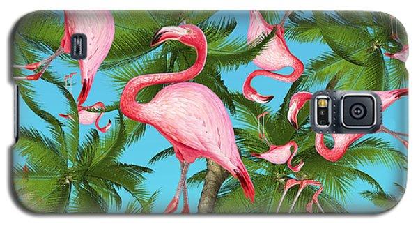 Galaxy S5 Case - Palm Tree by Mark Ashkenazi