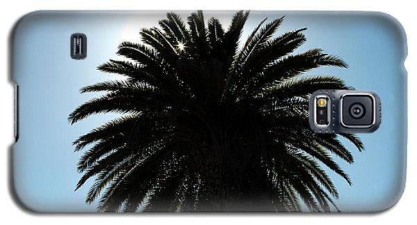 Palm Tree Silhouette Galaxy S5 Case