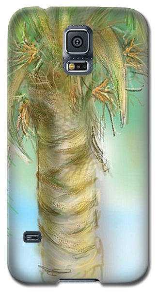 Palm Tree Study Two Galaxy S5 Case