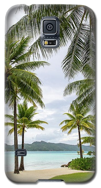 Palm Trees 1 Galaxy S5 Case