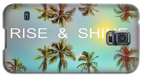 Palm Trees Galaxy S5 Case