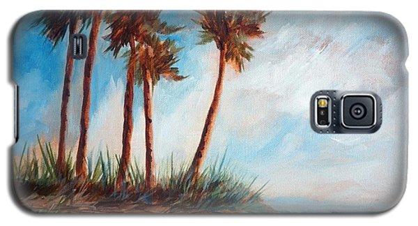 Palmettos On A Beach Galaxy S5 Case