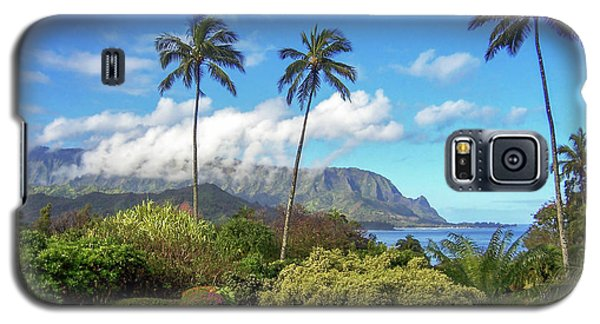 Palms At Hanalei Galaxy S5 Case by James Eddy