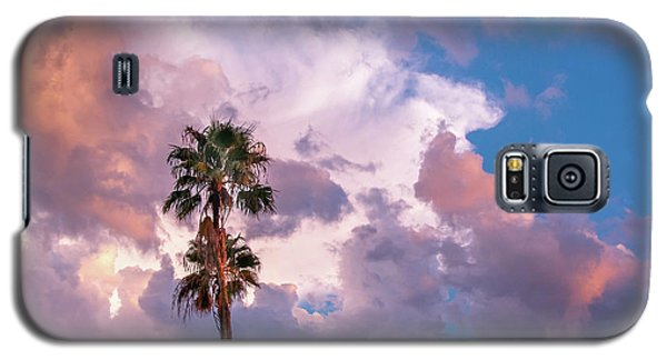 Palms At Sunset Galaxy S5 Case