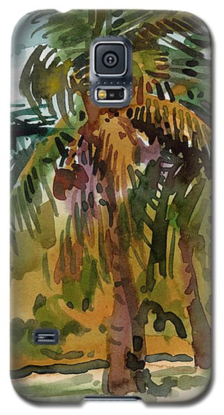 Palms In Key West Galaxy S5 Case by Donald Maier