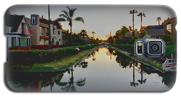 Palms Reflected Galaxy S5 Case